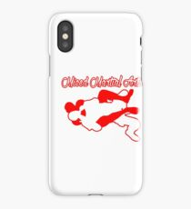 Mixed Martial Arts Rear Naked Choke Red  iPhone Case/Skin