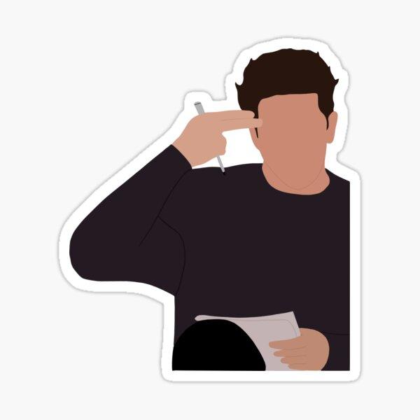 Ross Geller unagi sticker Sticker