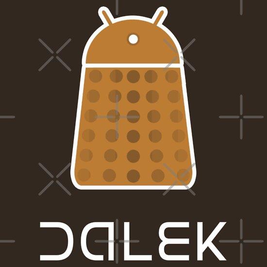 TShirtGifter presents: Droidarmy: Dalek - Dalek Gold