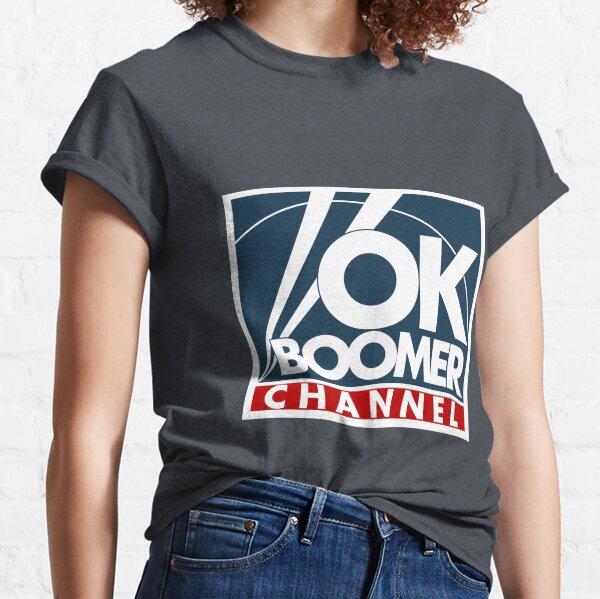 Ok Boomer Channel Classic T-Shirt