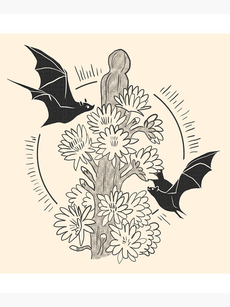 Night Bloom - Bat by straungewunder
