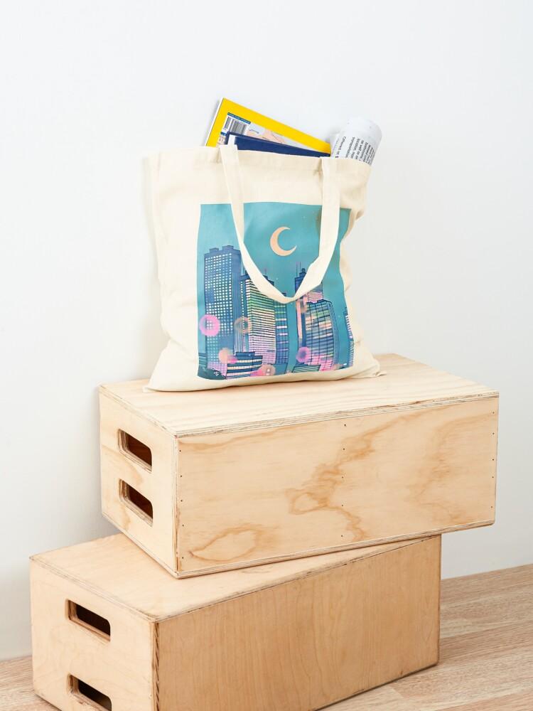 Alternate view of Classic Shoujo skies Tote Bag