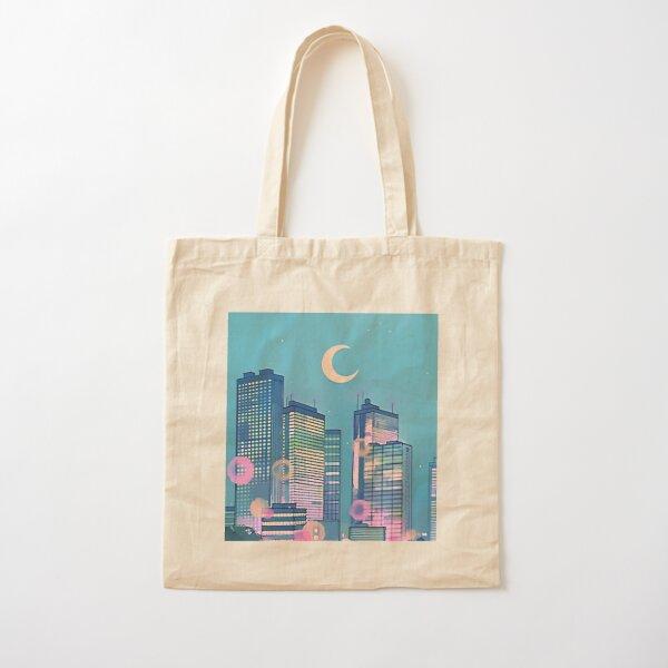Classic Shoujo skies Cotton Tote Bag