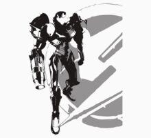 Metroid - Samus Aran Silhouette