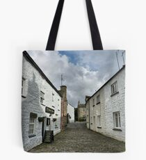 Stone Close Tearooms. Tote Bag