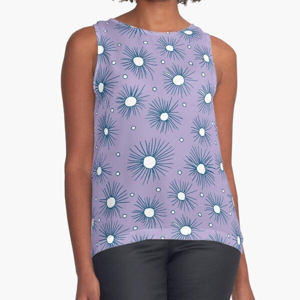 Half a Pompom - Lilac Sleeveless Top