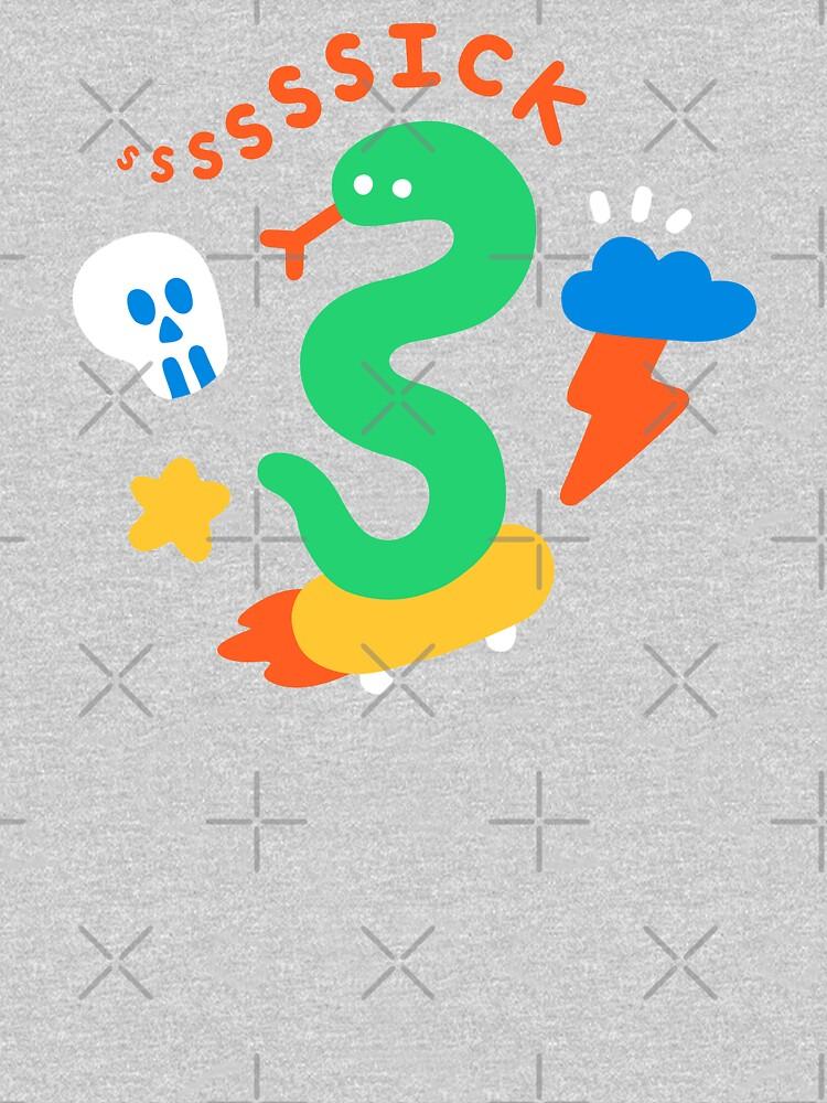 Skate Snake by obinsun