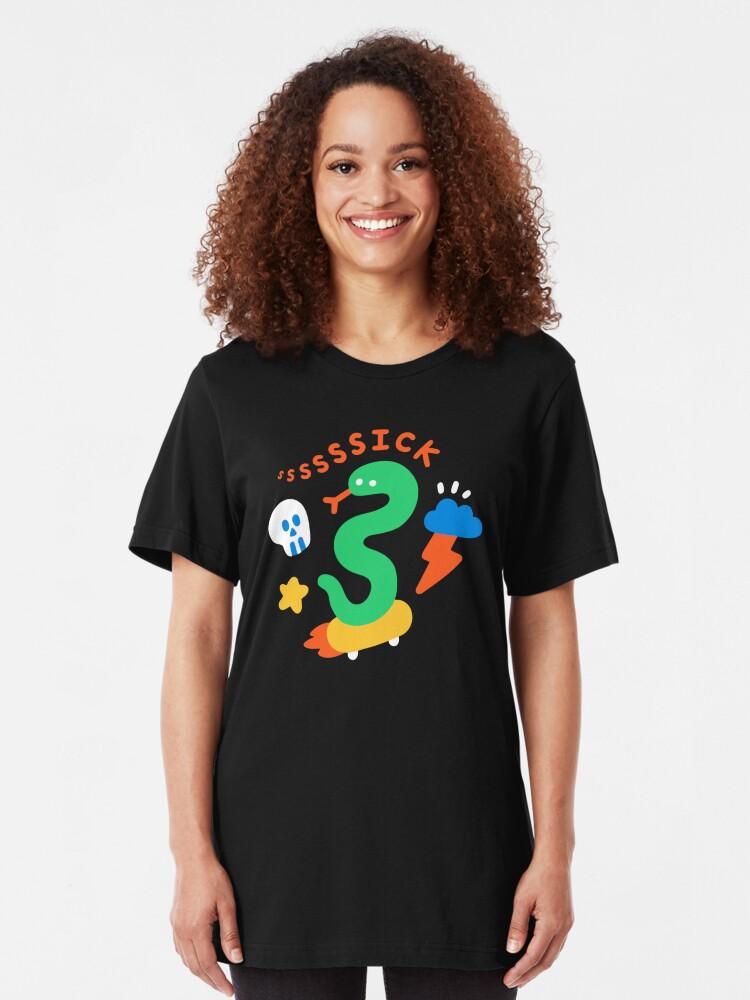 Alternate view of Skate Snake Slim Fit T-Shirt