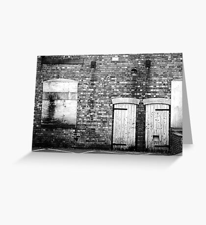 Boarded Up Greeting Card