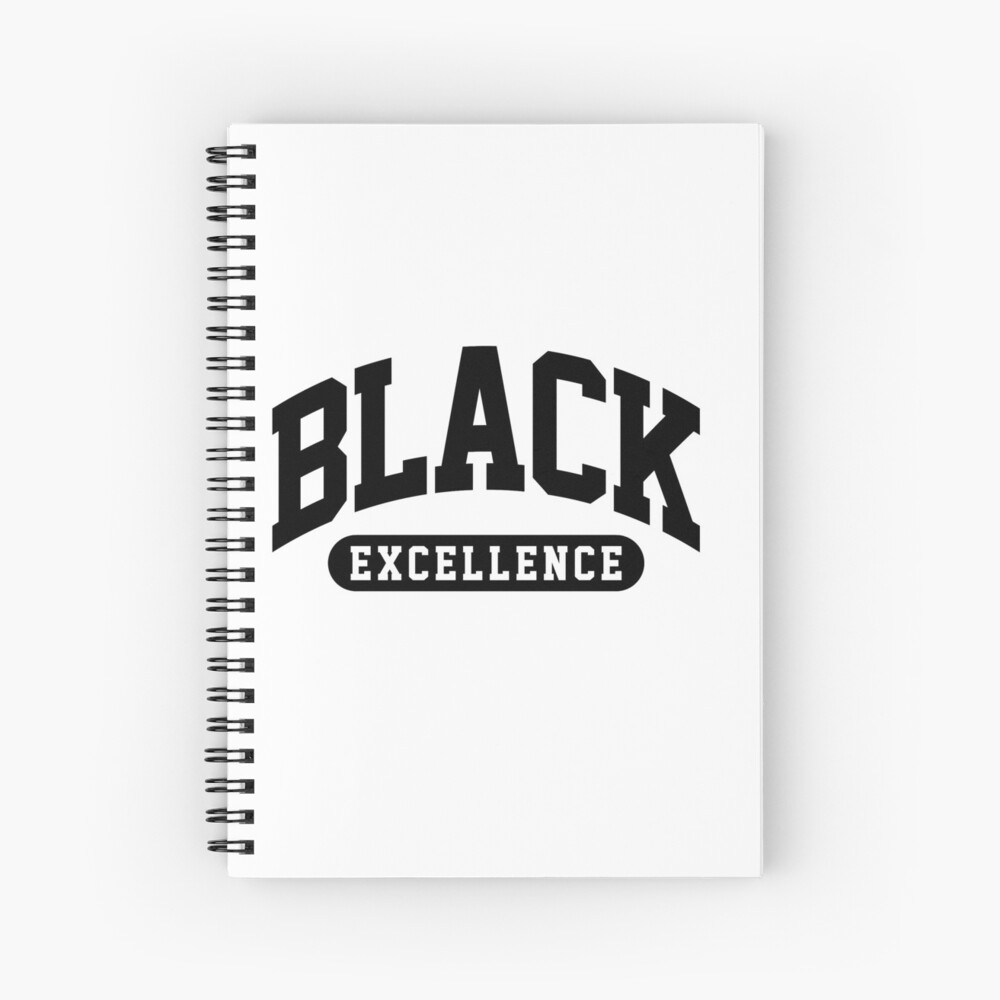 Black Excellence Slay Snack African American Shirt Spiral Notebook