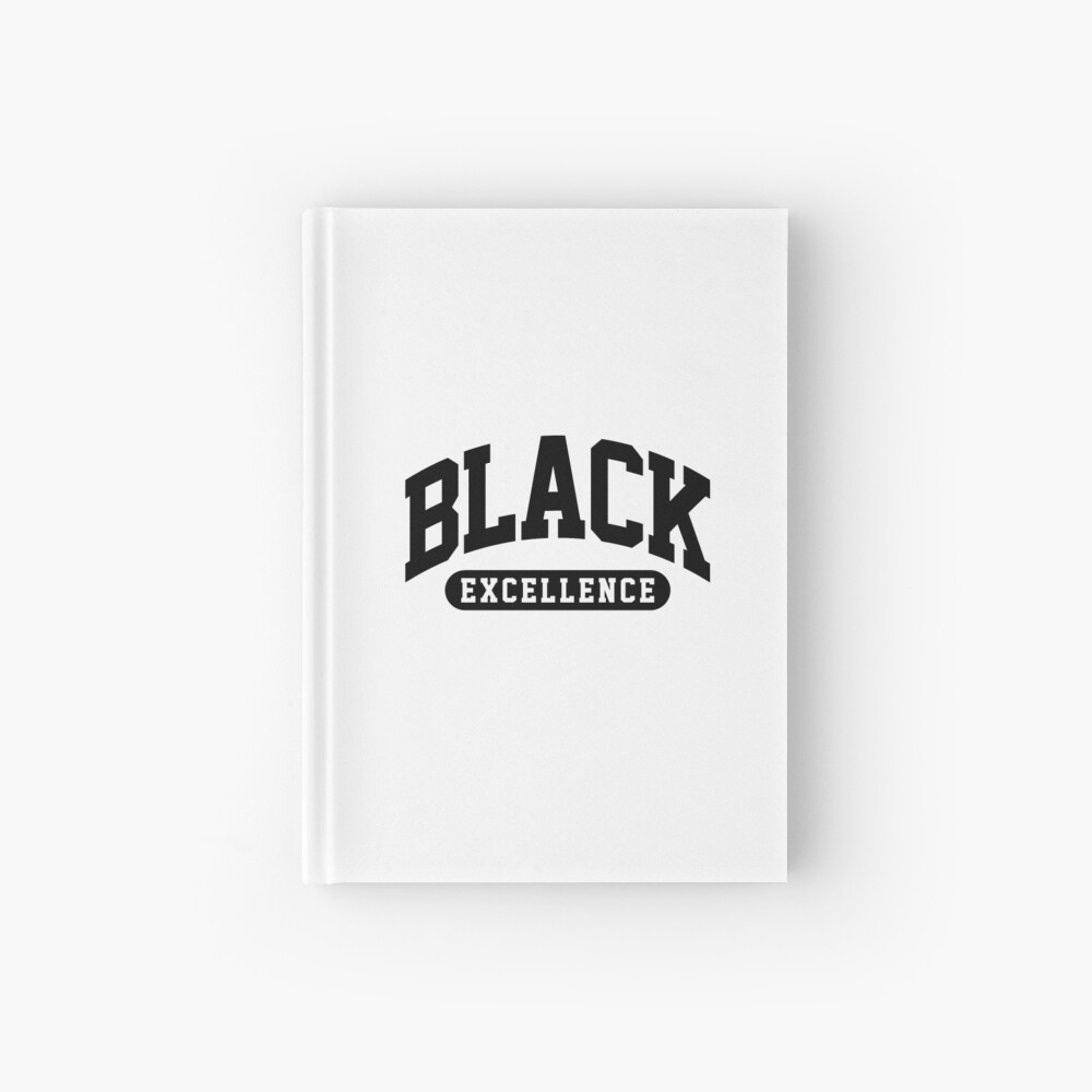 Black Excellence Slay Snack African American Shirt Hardcover Journal