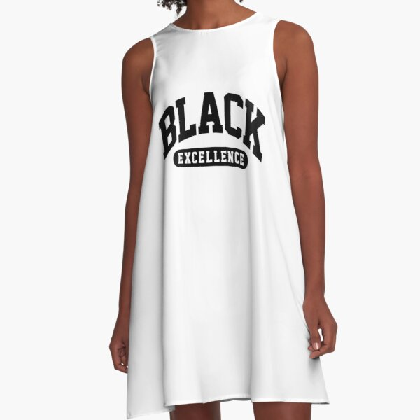 Black Excellence Slay Snack African American Shirt A-Line Dress