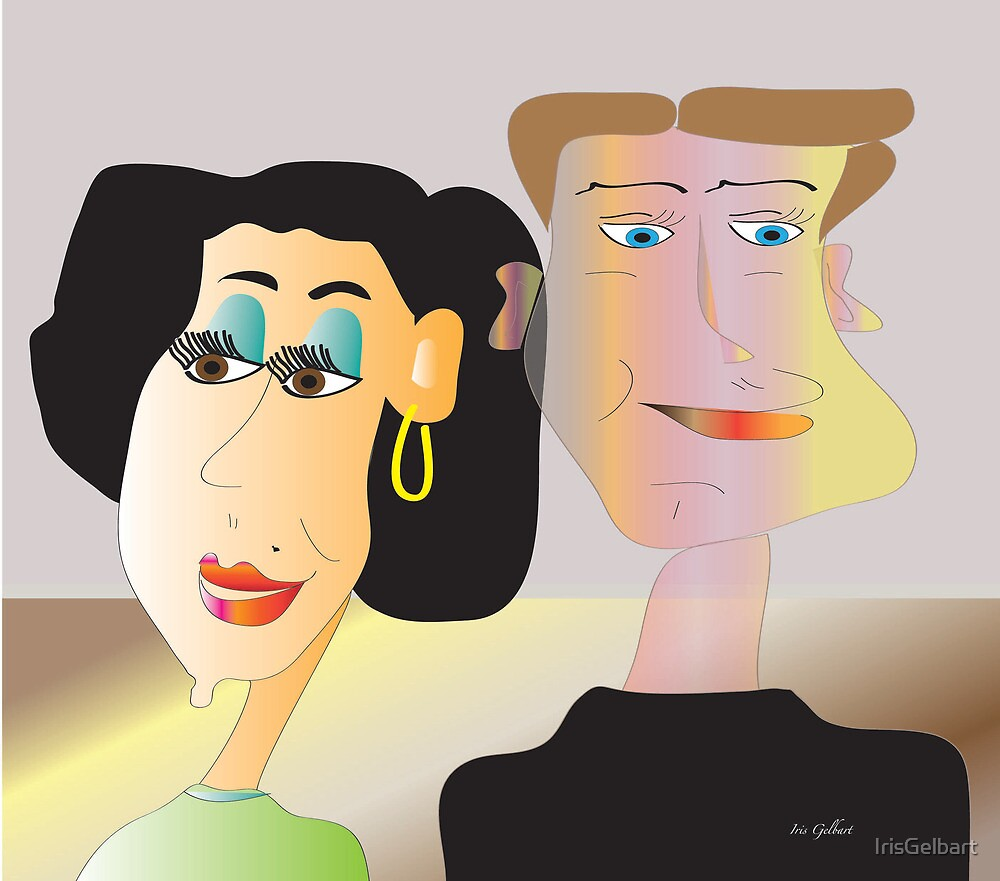 Milly and Bill by IrisGelbart