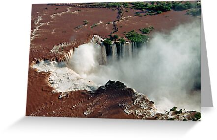 Foz do Iguazu from above by julie08