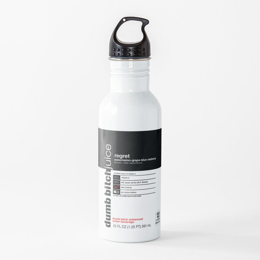dumb bitch juice-regret Water Bottle