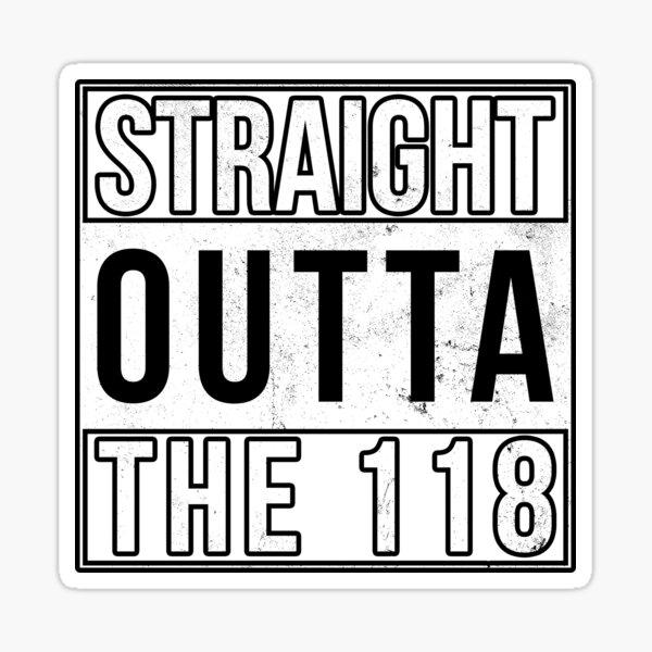 The 118 Sticker