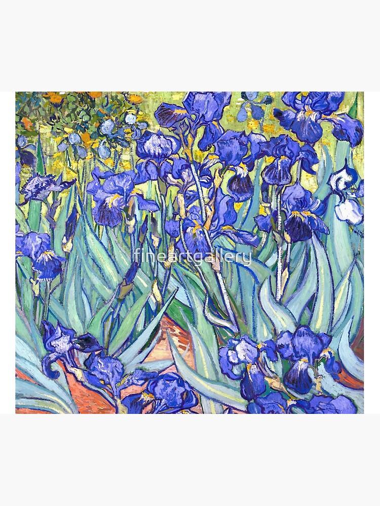 Vincent Van Gogh Irises by fineartgallery