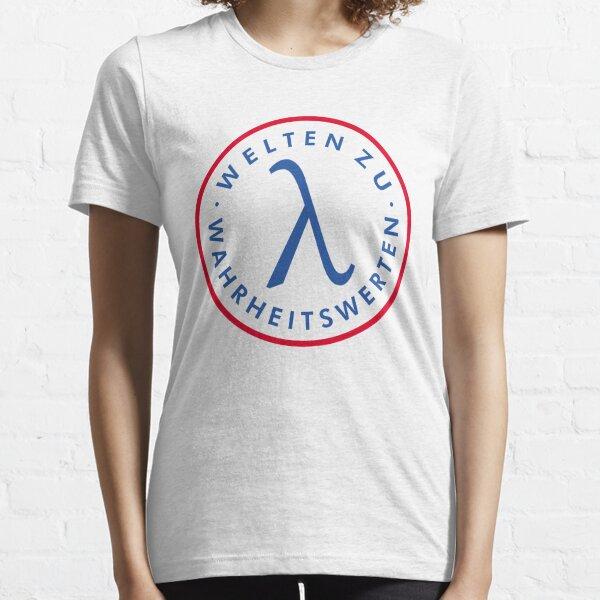 Welten zu Wahrheitswerten Essential T-Shirt