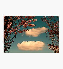 April Clouds Photographic Print