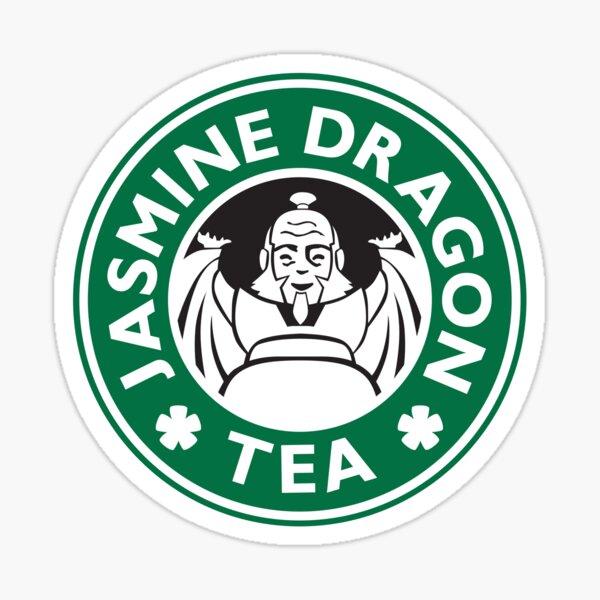 Jasmine Dragon, Uncle Iroh, Avatar-Inspired Design Sticker