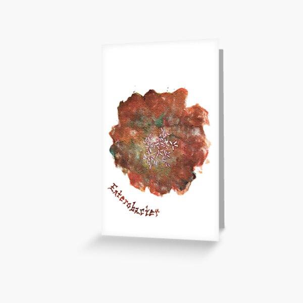 Enterobacter Greeting Card Greeting Card