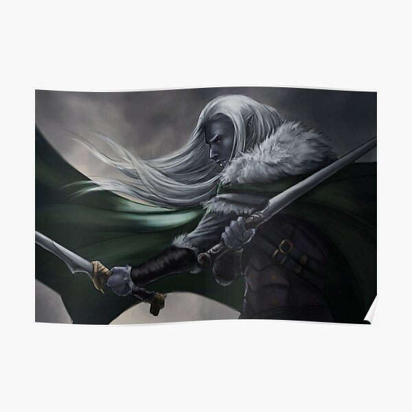 Drizzt Poster