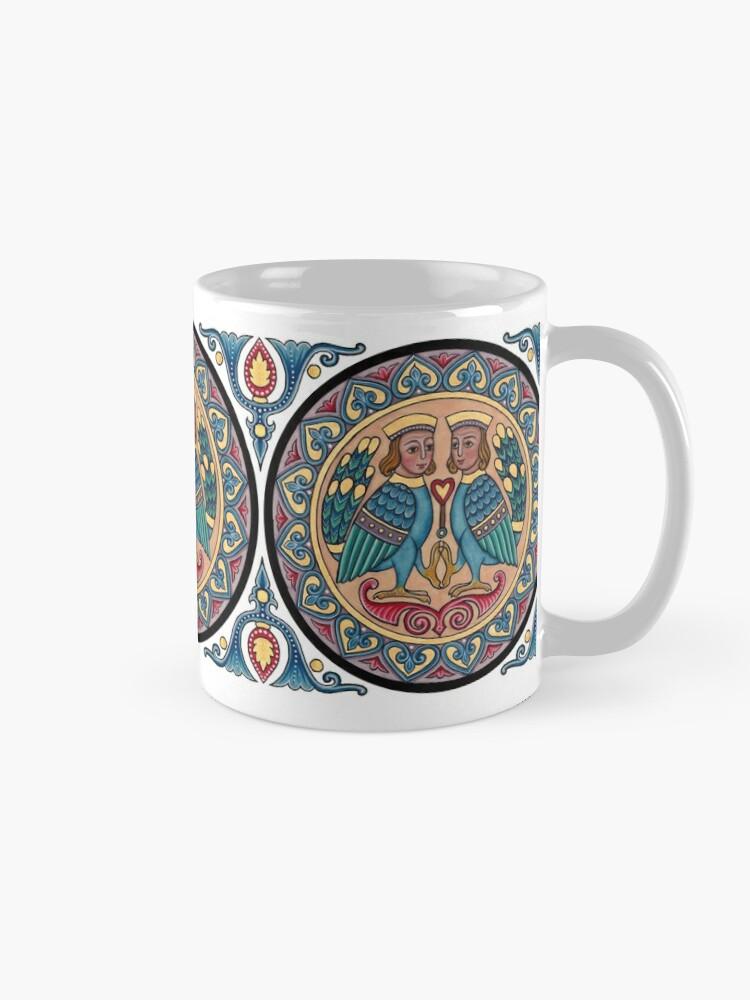 Alternate view of Medieval Armenian Harpies Mug