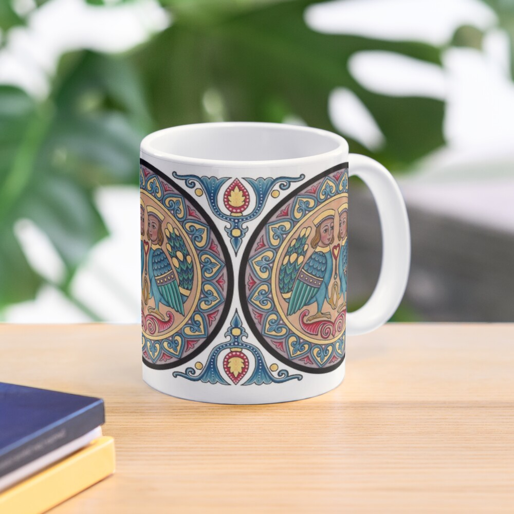Medieval Armenian Harpies Mug