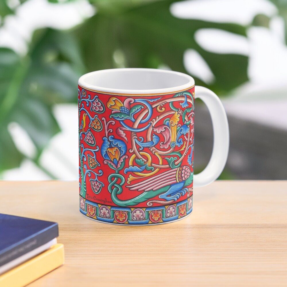 Medieval Romanesque Dragon  Mug