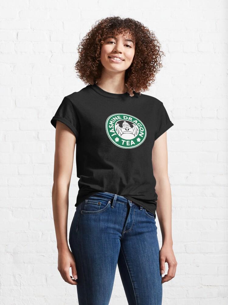 Alternate view of Jasmine Dragon, Uncle Iroh, Avatar-Inspired Design Classic T-Shirt