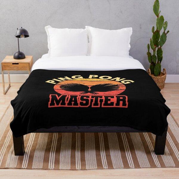 Ping Pong Master Throw Blanket