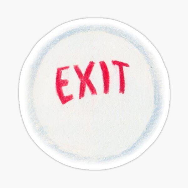 exit orb Sticker