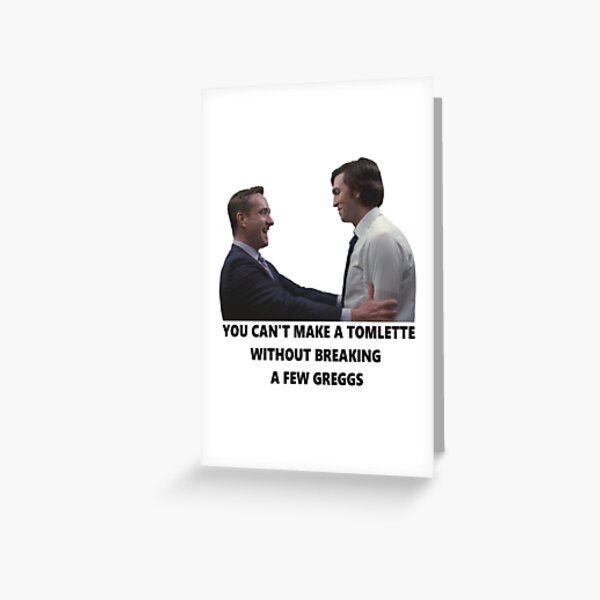Tomlette Greeting Card