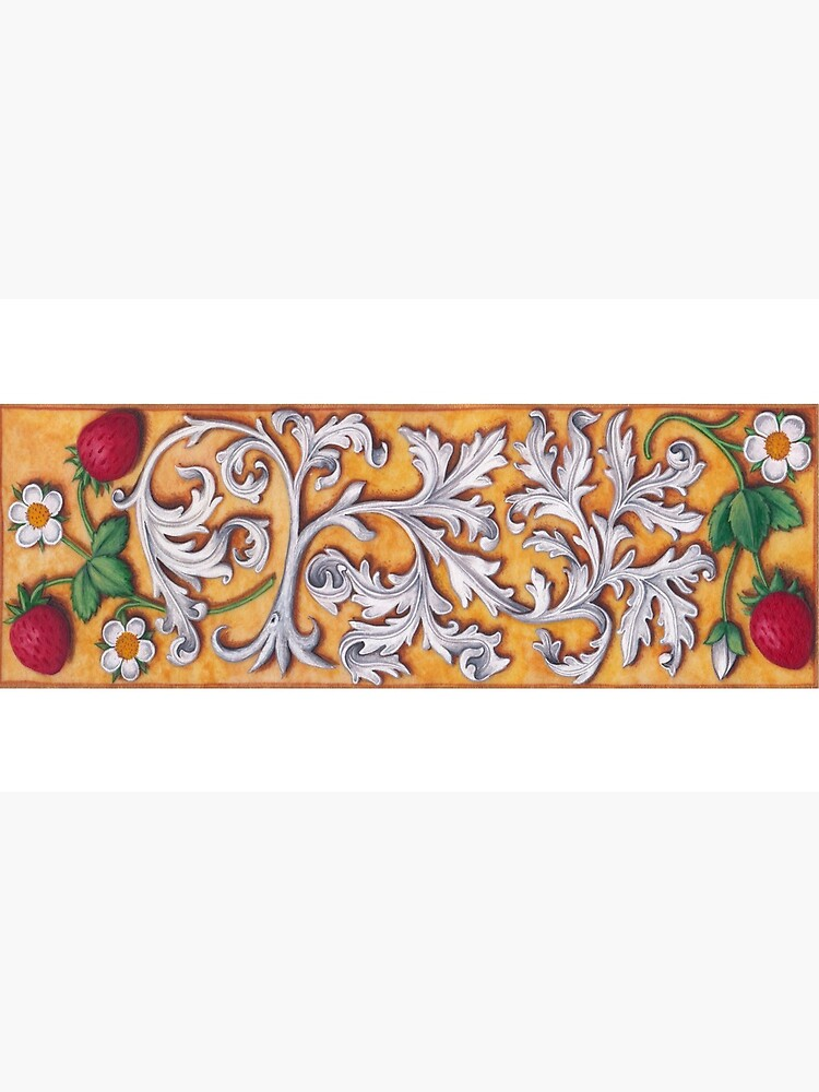 Medieval Strawberries and Acanthus by TCilluminate
