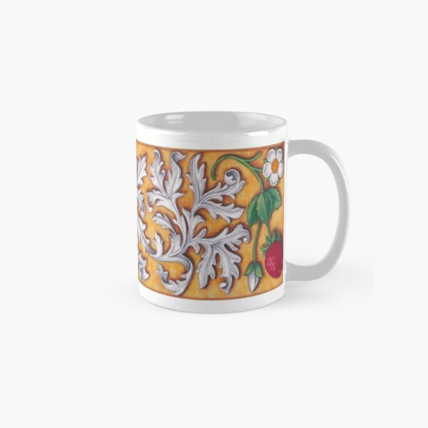 Medieval Strawberries and Acanthus Classic Mug