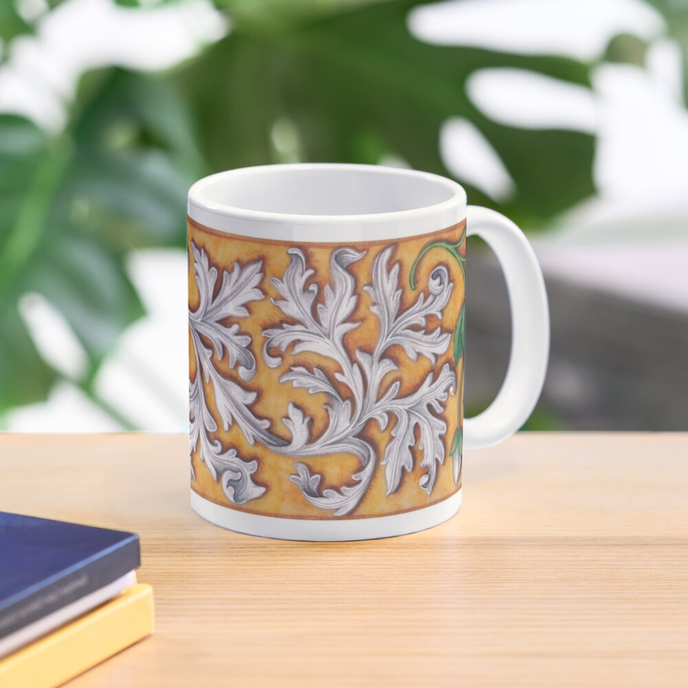 Medieval Strawberries and Acanthus Mug