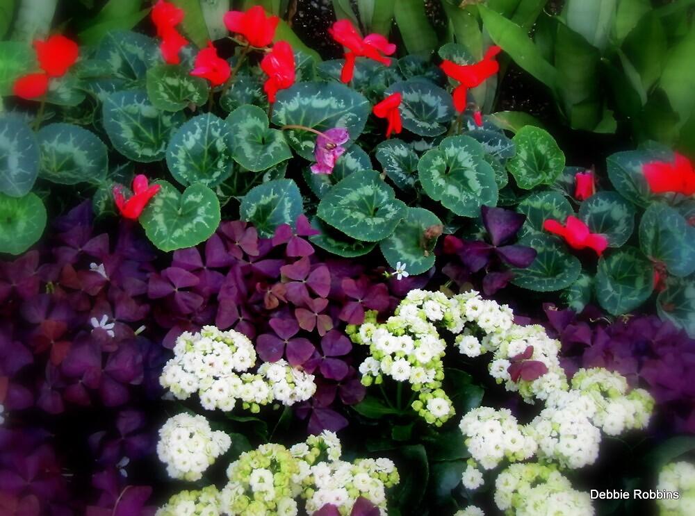 Flowers Take Away The Blues by Debbie Robbins