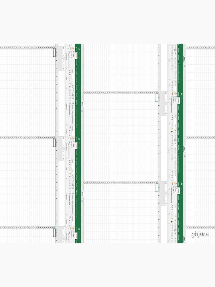 Excel spreadsheet by ghjura