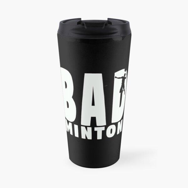 Badminton  Travel Mug