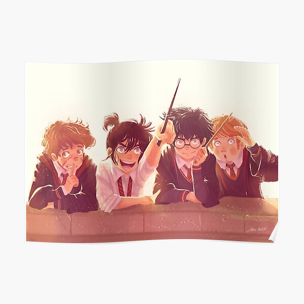 Young Marauders Poster