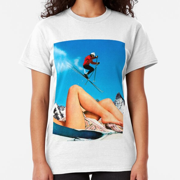Skiing Time Classic T-Shirt