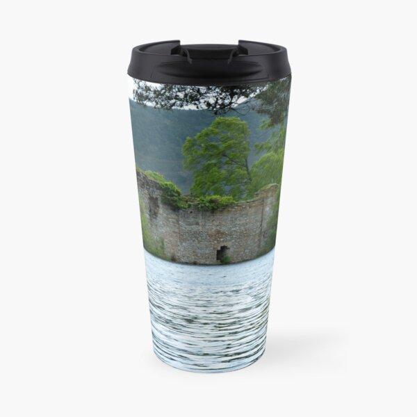 Loch an Eilein castle Travel Mug