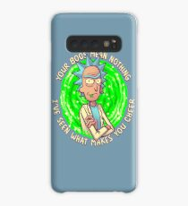 Rick and Morty - Your Boos mean NOTHING Funny Rick Sanchez Quote Case/Skin for Samsung Galaxy