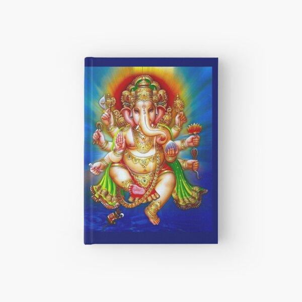 """GANESHA HINDU GOD"" Vintage Deity Print Hardcover Journal"