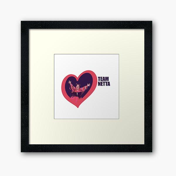 Netta WINS eurovision Framed Art Print