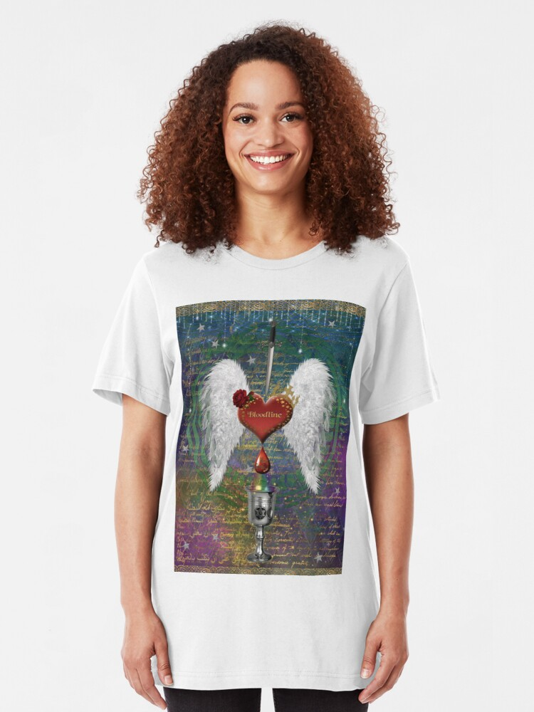 Alternate view of Holy Grail Bloodline Slim Fit T-Shirt