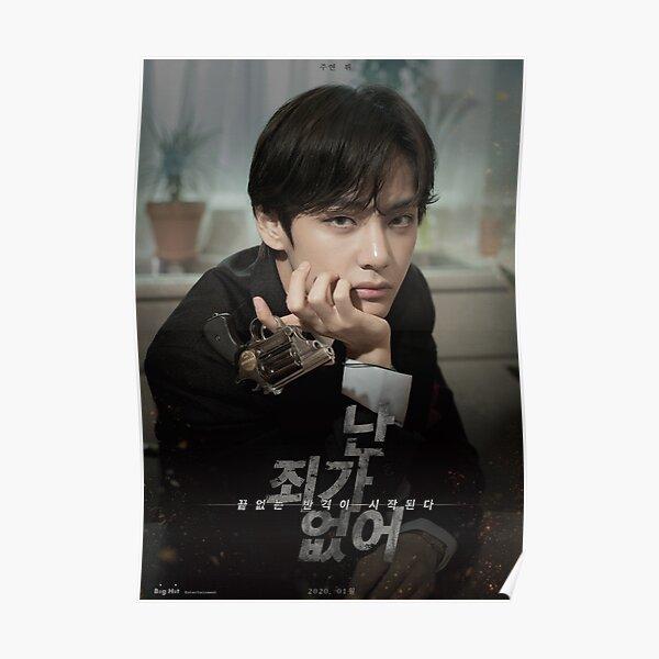 BTS Kim Taehyung - póster de película Póster