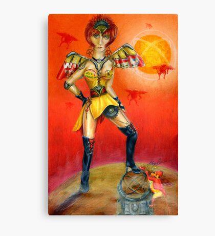 Evolution's Mistress Canvas Print