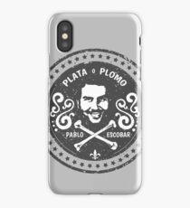 Pablo Escobar, El Patron del Mal iPhone Case/Skin