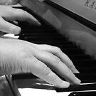 Dancing Fingers  by Allison  Flores